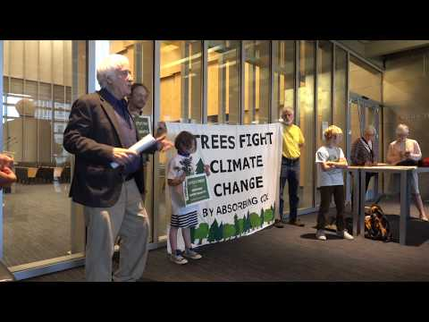 Seattle Coalition For Stronger Tree Protection Press Conference May 2018 (10 minutes)