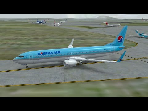 Infinite Flight Korean Air Boeing B737 - 900 Touch and Go