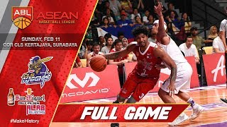 CLS  Knights Indonesia vs San Miguel Alab Pilipinas   FULL GAME   2017-2018 ASEAN Basketball League