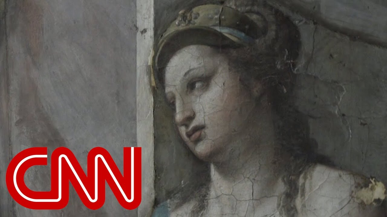 500 Year Old Paintings From Italian Master Found Youtube