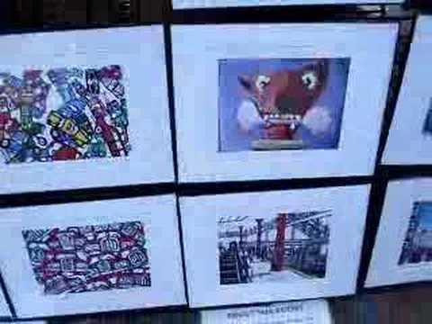 If you go to New ...Buying art on the street
