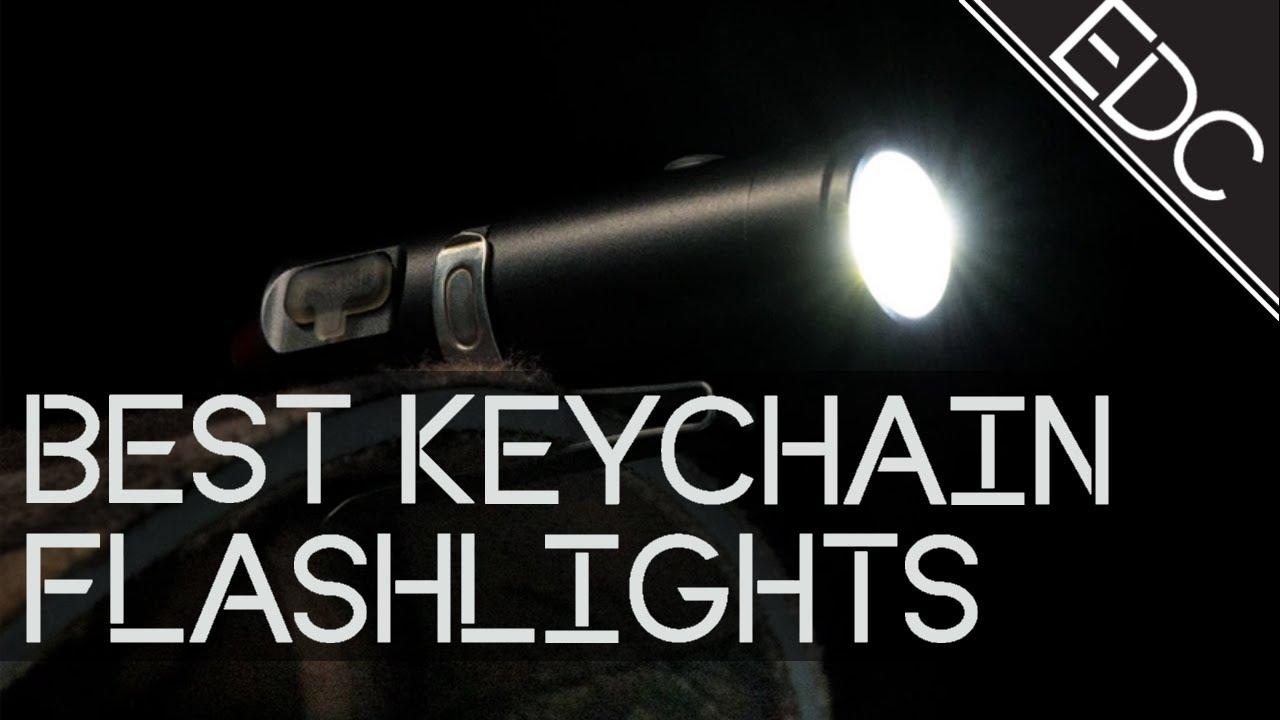 Outdoor EDC Lighting Micro-Light Mini LED Keychain Flashlight T5B8 Torch E0F2