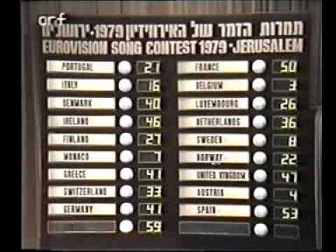 Eurovision 1979 - Voting Part 3/5