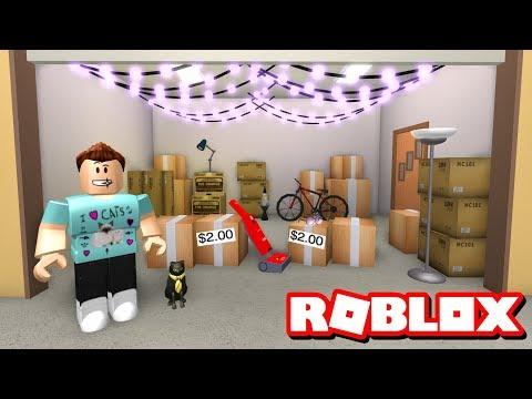 DENIS HAS A GARAGE SALE!!  Roblox Adventures