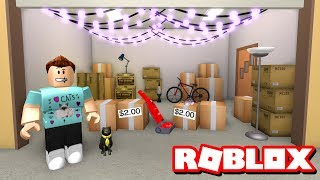 DENIS HAS A GARAGE SALE!! - Roblox Adventures