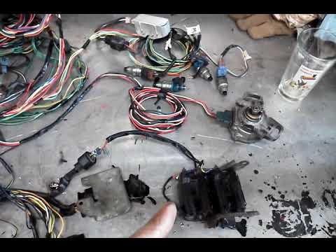 4g63 engine swap wiring harness on