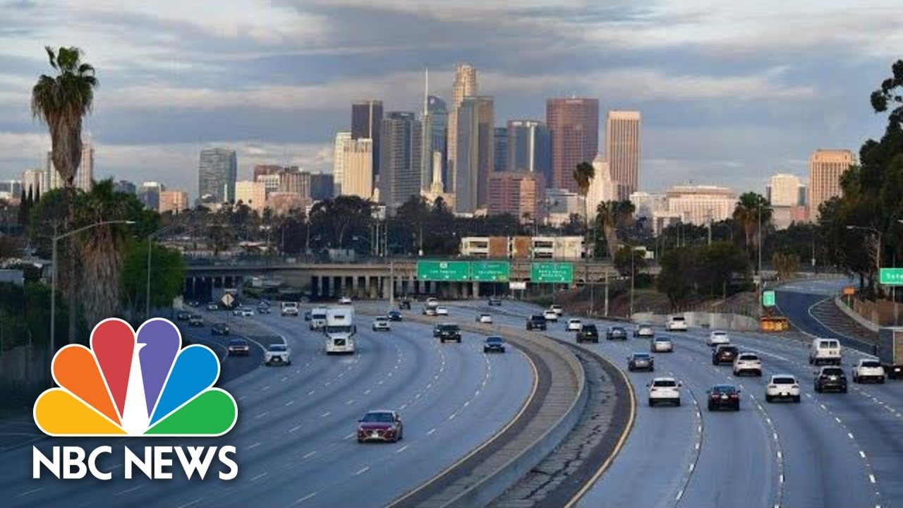 Los Angeles County Gives Coronavirus Update | NBC News (Live Stream) (26 March 2020)