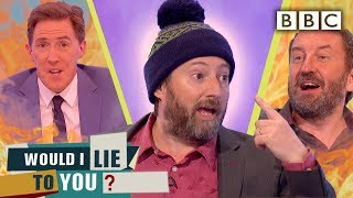 David Mitchell's head TRAPPED in a tube door? | Would I Lie To You - BBC