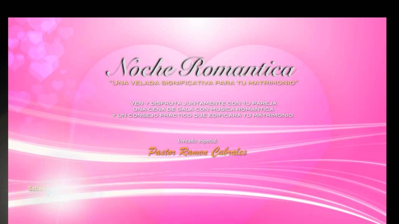 Invitacion A Noche Romantica