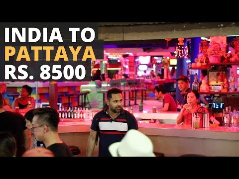 India to Pattaya In Rs. 8500 – Free On Arrival Visa, Cheap Flights, Bus To Pattaya, Thailand Vlog 1