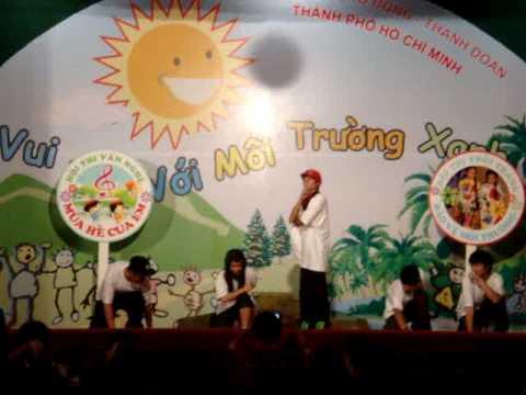 HIPHOP dance- đội Sơn Ca [ Trại Hè Thanh Đa đợt 5 2009 ]