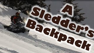 A SNOWMOBILE BACKPACK | What To Carry in the Backcountry