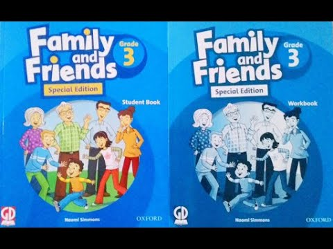 [Tiếng anh lớp 3] - Family and friends 3 special edition workbook - Unit 1: What's this? - tiết 4