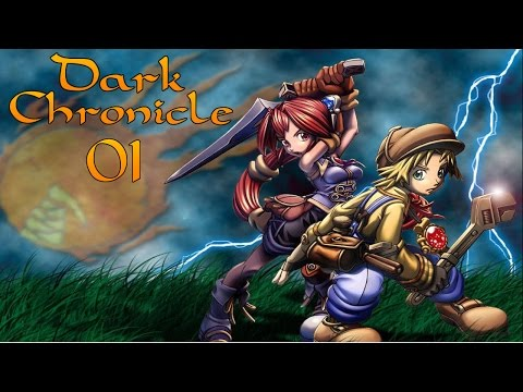 Let's Play Dark Chronicle   #001 [German/HD]   Ein Abend voller Wunder!