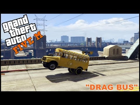 GTA 5 ROLEPLAY - DRAG SCHOOL BUS BUILD - EP. 204 - CIV
