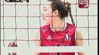 VOLEY PERU VS TURQUIA [1-3] - Tailandia 2013 (2do. Set) 28-07-2013