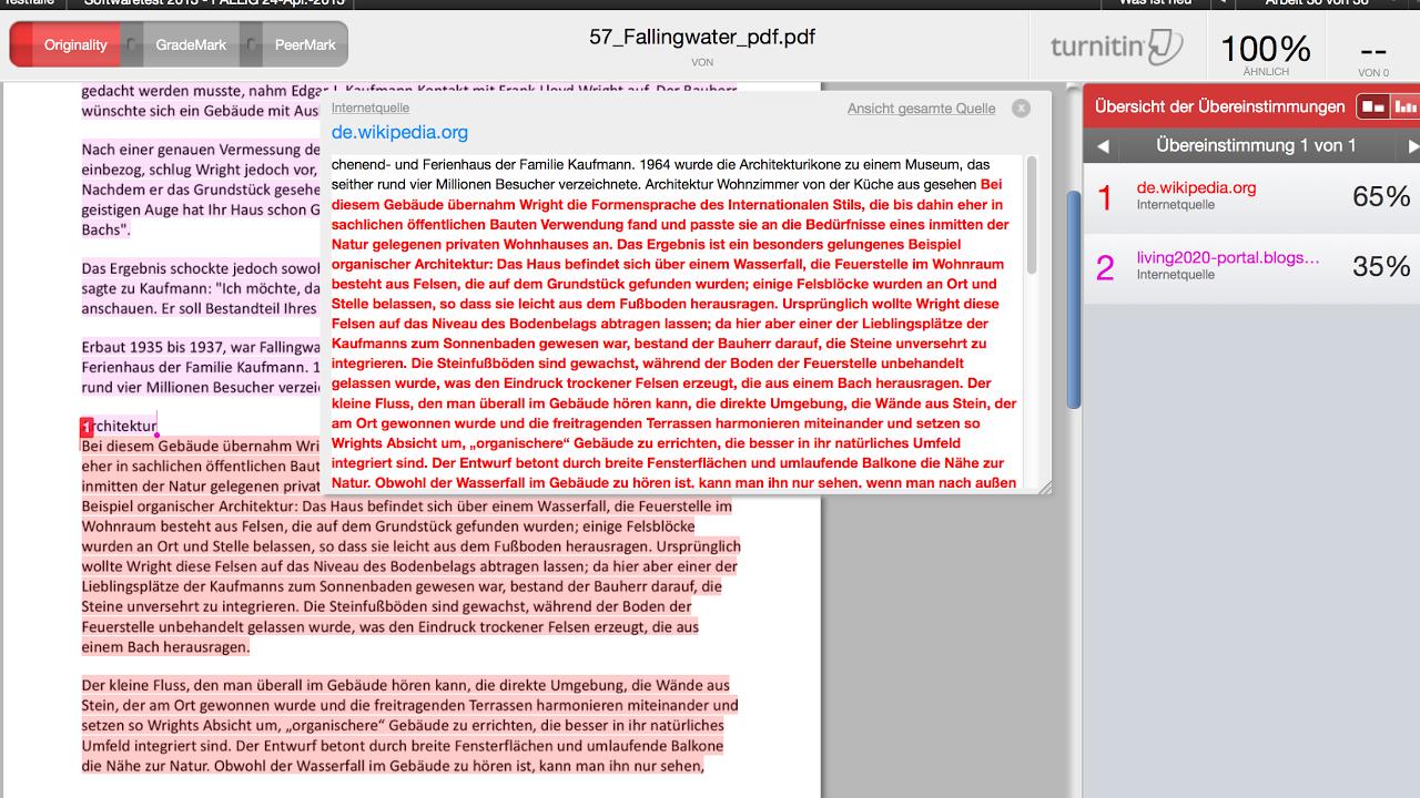 Dissertation plagiarism checker online