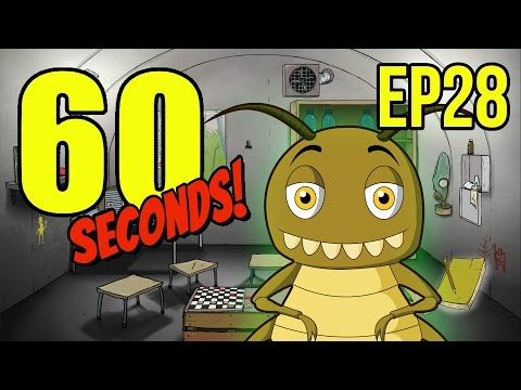 60 Seconds - Ep. 28 - EATING INSECTS ★ Let's Play 60 Seconds!