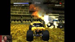 Monster Jam: Maximum Destruction - Goldberg - Jungle Temple