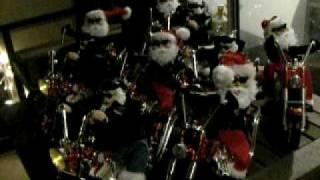 Harley Biker Santa