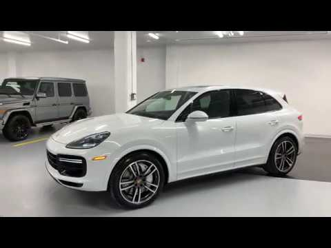 2019 porsche cayenne turbo revs walkaround in 4k