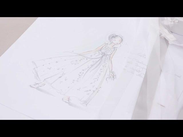 The expertise behind Miranda Kerr's Flower Girl's dress