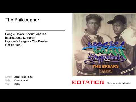 Boogie Down Productions's 'My Philosophy' sample of Lutheran