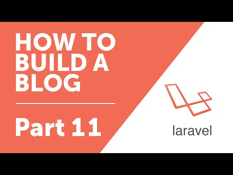 """Part 11 - """"Create"""" function and Forms in Laravel [How to Build a Blog with Laravel 5 Series]"""