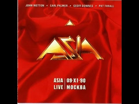 ASIA - LIVE EN MOSCOW  (FULL ALBUM)