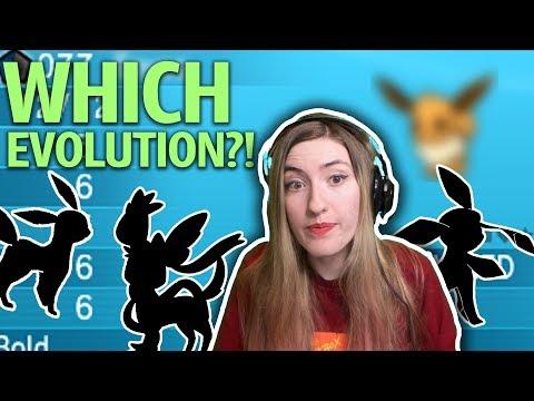 CHOOSING AN EEVEE EVOLUTION! Pokemon X Egglocke! Ep. 5