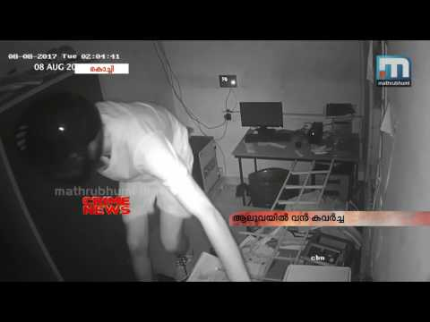 Thieves break inside Aluva pump get away with Rs 6.5 lakh  | Mathrubhumi News