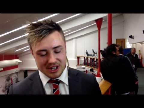 England wing Jack Nowell reacts to the 13-10 6N defeat of Ireland and looks ahead to Wales showdown