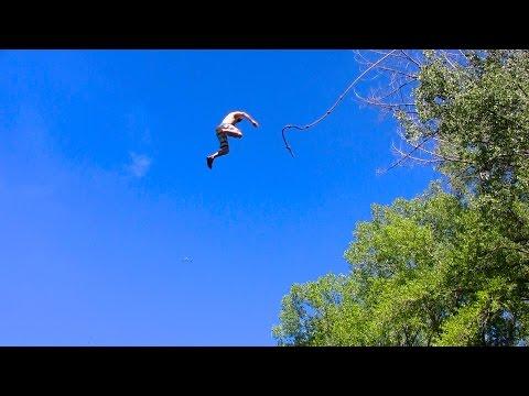 Epic Summer Fun Rope Swing- HoBBs PoND