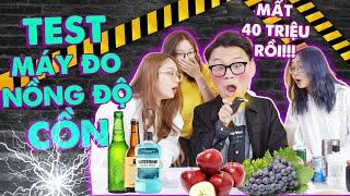 Đọ nồng cồn khi ăn hoa quả, nước súc miệng : Bạn có thể bị phạt tới 40 triệu ?