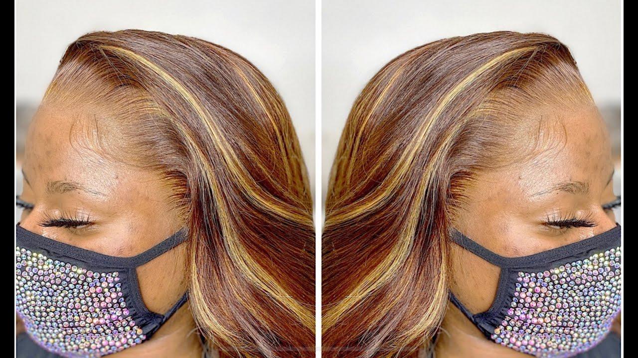 wig install 😍 feat. imaslayyobae gummy glue