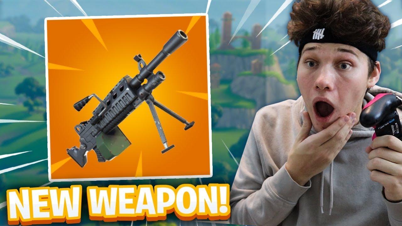 new light machine gun lmg in fortnite - lmg fortnite gun
