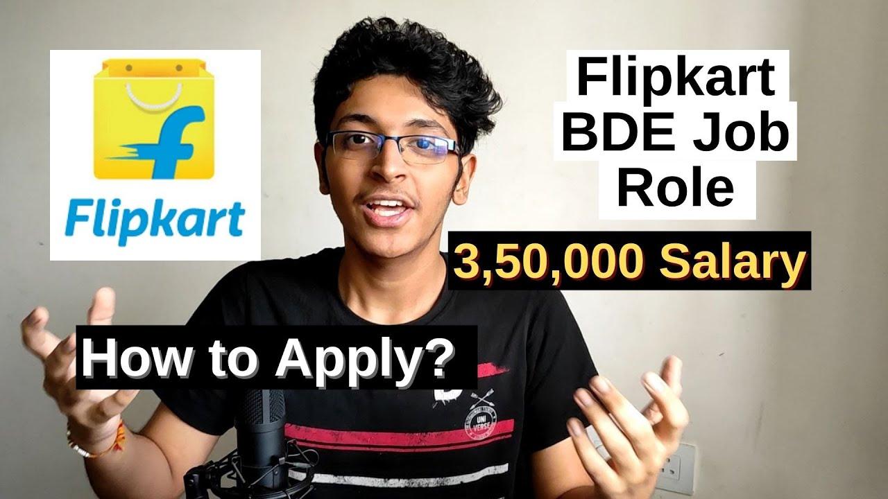Flipkart Jobs 2020 (Sales Job)  | Business Development Executive | Flipkart Recruitment 2020