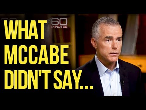 McCabe's Troubles Deeper Than '60 Minutes' Interview Suggests