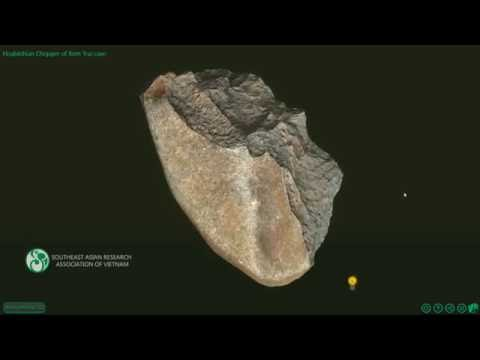Archeology 3D scanning and interactive online - Hoabinhian c