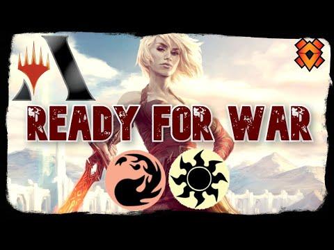 Equipped For Battle | MTG Arena - Boros Warriors Tribal + Equipment Red/White Nahiri