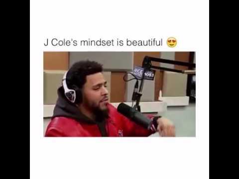J. Cole's mindset is beautiful😍