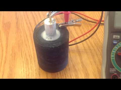 Amazing Carbon Magnesium Crystal Battery  Part 2