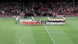 Wales vs Spain the Anthems