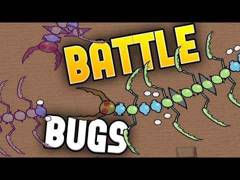 Battle Bugs - Battle of the Big Bugs! - Building The Best Bug! - Battle Bugs Gameplay Highlights