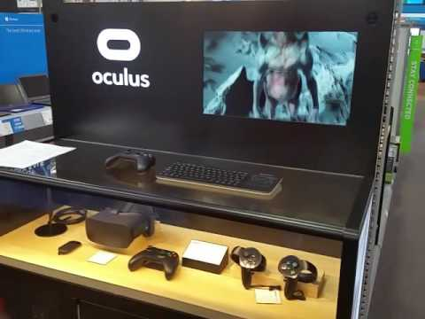 Oculus Rift at Best Buy - YouTube