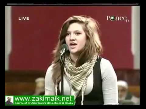 Dr. Zakir Naik: Oxford Union Secretary asking about Hijab (veil)