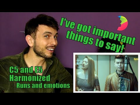 Vocal Coach YAZIK Analysis Of You Are The Reason Covered By Daryl Ong & Morissette AmoMn