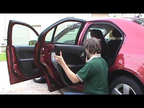 2007 Fusion Door Panel Removal Youtube