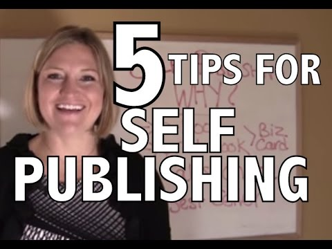 5 Tips For Self Publishing Your Book in Canada