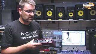 Focusrite Scarlett 2i4 USB Audio Interface @ Nevada Music UK